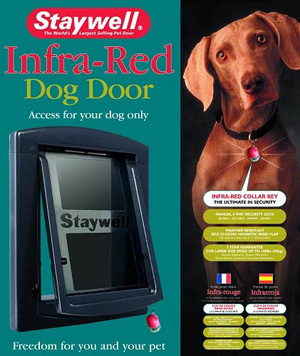 Staywell Porte électronique InfraRouge Staywell Grand Chien - Porte pour chien